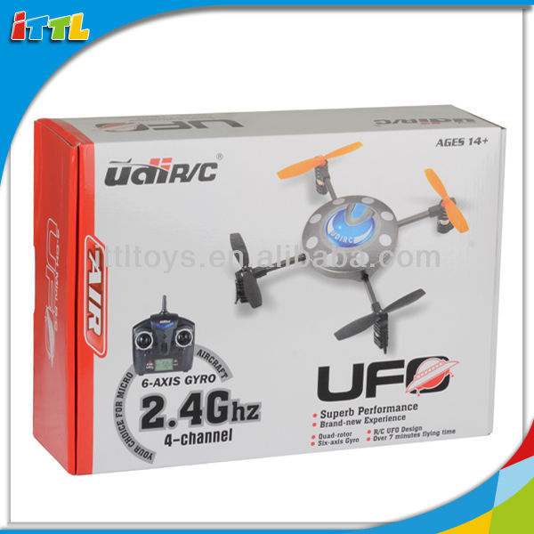A441336 4Blades 2.4G Indoor&Outdoor UFO Fly Quadcopter Magic UFO Toy