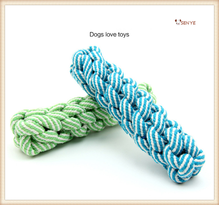 Factory Handmade Simple Fresh Style Cotton Rope Stuffed Toys Dog Rope Toy