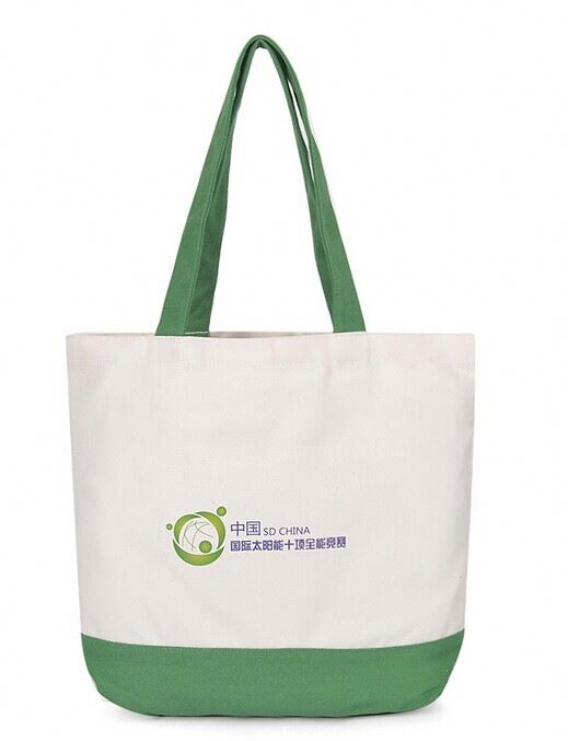 custom high quality cotton cloth carry bag