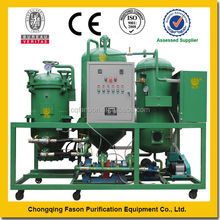 Edible oil regeneration waste cooking oil recycling