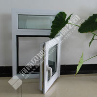 Hot Selling PVC Triple Glass Sliding Reception Window