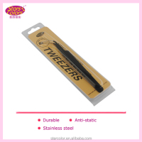 Stainless steel tweezers for eyelash hand light
