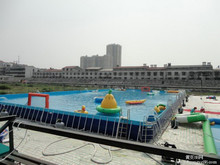 2015 Funny Hot sale ground strong intex metal frame pool for summer season