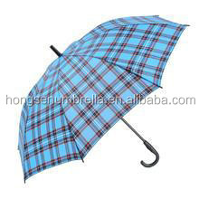 Honesen oem and odm Auto open straight / golf umbrella with UV protection