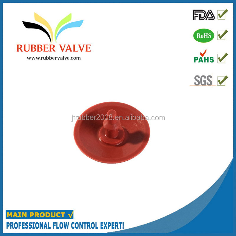customized rubber cut-off valve