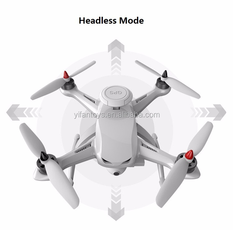 RC Drone GPS Follow Me Mode K350 2.4G Brushless Motor Altitude Hold RC Headless UFO Quadcopter With Double GPS System