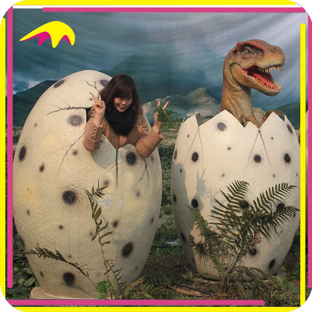 KANO4840 Wild Park 3D Animatronic Artificial Growing Dino Eggs