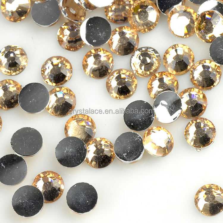 3mm/4mm/5mm/6mm/7mm/8mm flat back non hotfix resin stones