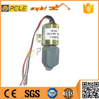 2016 New SY215 SY235 SY335 hydraulic crawler excavator diesel engine stop solenoid valve
