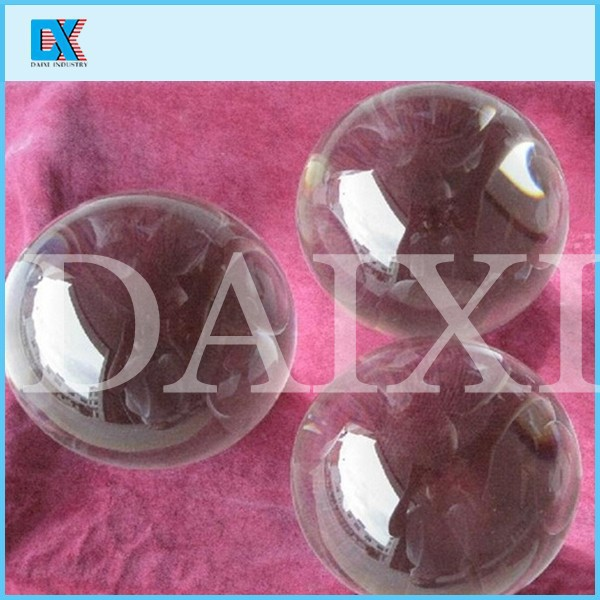 Decorative beautiful clear solid glass ball buy