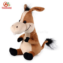 New Singing Toys Custom Musical Dancing Soft Stuffed Small Animal Plush donkeys Toy