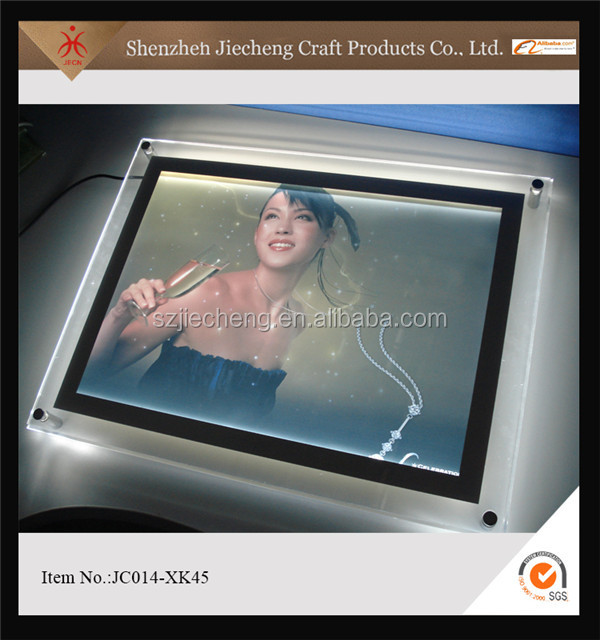2016 fashion design nice quality acrylic block women sex photo frame