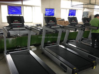 Hot sales commercial treadmill with TV K17/running machine price