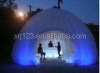 indoor office inflatable LED dome/ giant lighting dome inflatable event tent