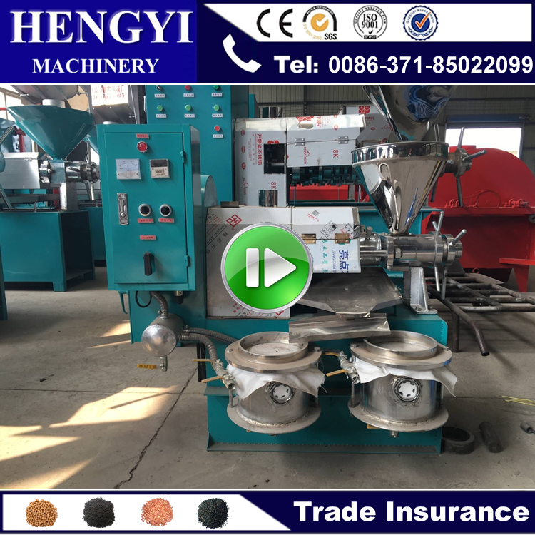 Sunflower olive sesame oil presser/peanut oil mill machine