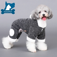 Warm Soft Dog Winter Coat with Hoodie Stock Available Dropshipping