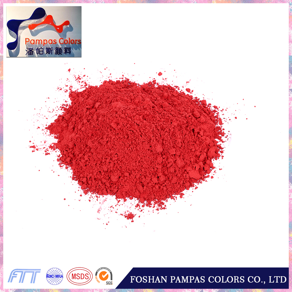 color red yellow oxide cement and iron pigments fe2o3 for stamp brick/block
