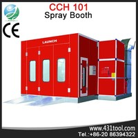 Stable and portable Launch CCH-101 used car spray booths painting oven for sale