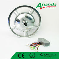 48V 500w brushless high speed hub motor