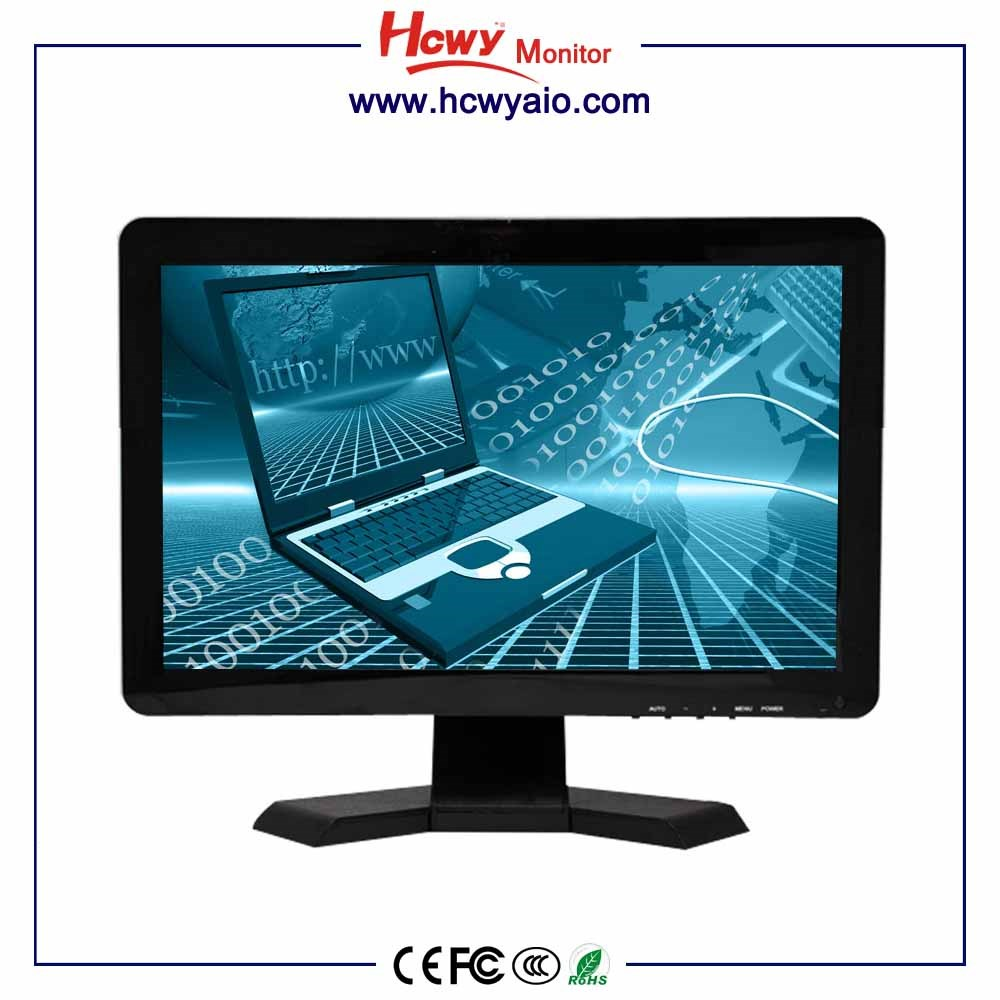 CE,RoHs,FCC 17inch Industrial VGA LCD monitor1920*1080