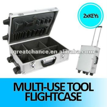 Aluminium Tool Case with Trolley