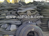 Used Tyres Cut into Pieces