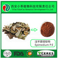 Factory Offer 100% Natural Epimedium Leaf powder, Herba Epimedii Powder