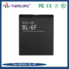 Spare replacement battery BL-6F For NOKIA 6788 N78 N79 N95