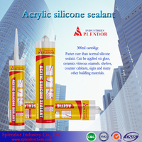Top Quality Splendor General Purpose Acetic Silicone Sealant Manufacturer