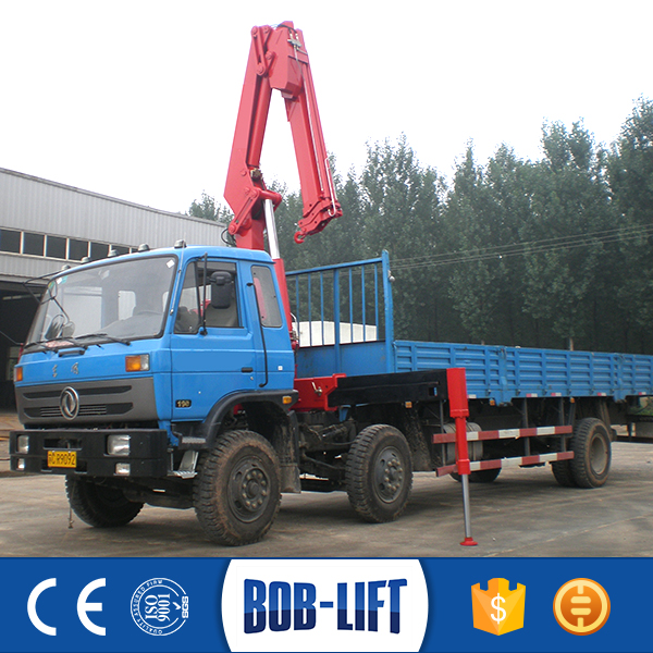 Brick Grab Foldable Arm Hydra Crane Truck for Sale in India