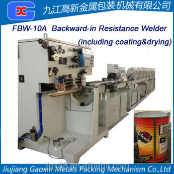 FBW-10A Rear Feeding Electric Resistance Seam Welding Machine