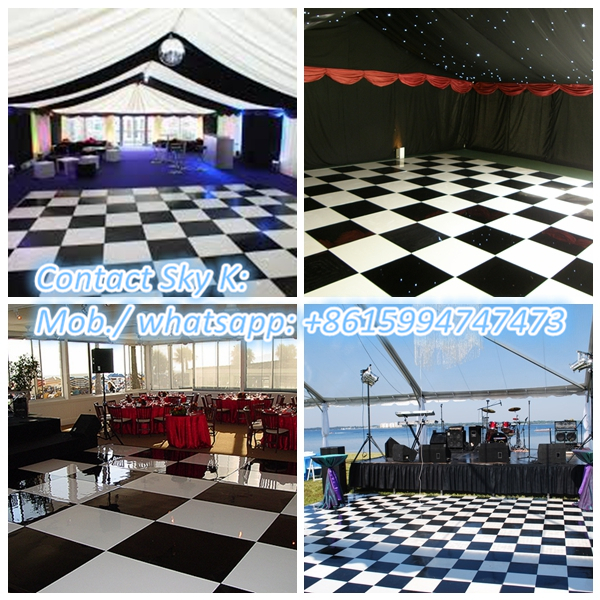 outdoor interlocking basketball court flooring/portable dance floor.