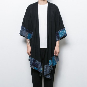 MS70959G New arrival men loose retro style cardigan