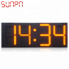 Custom LED Normal Design 4 Digit 3/4/5/6/8/10/12 Inch Clock 7 Segment Digital Display