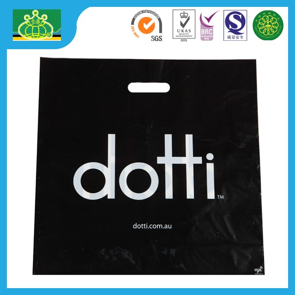HDPE LDPE OEM biodegradable film muti color printing plastic shopping bag