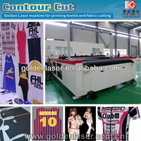 Automatic Fabric Laser Cutting Machine for Printed Sportswear