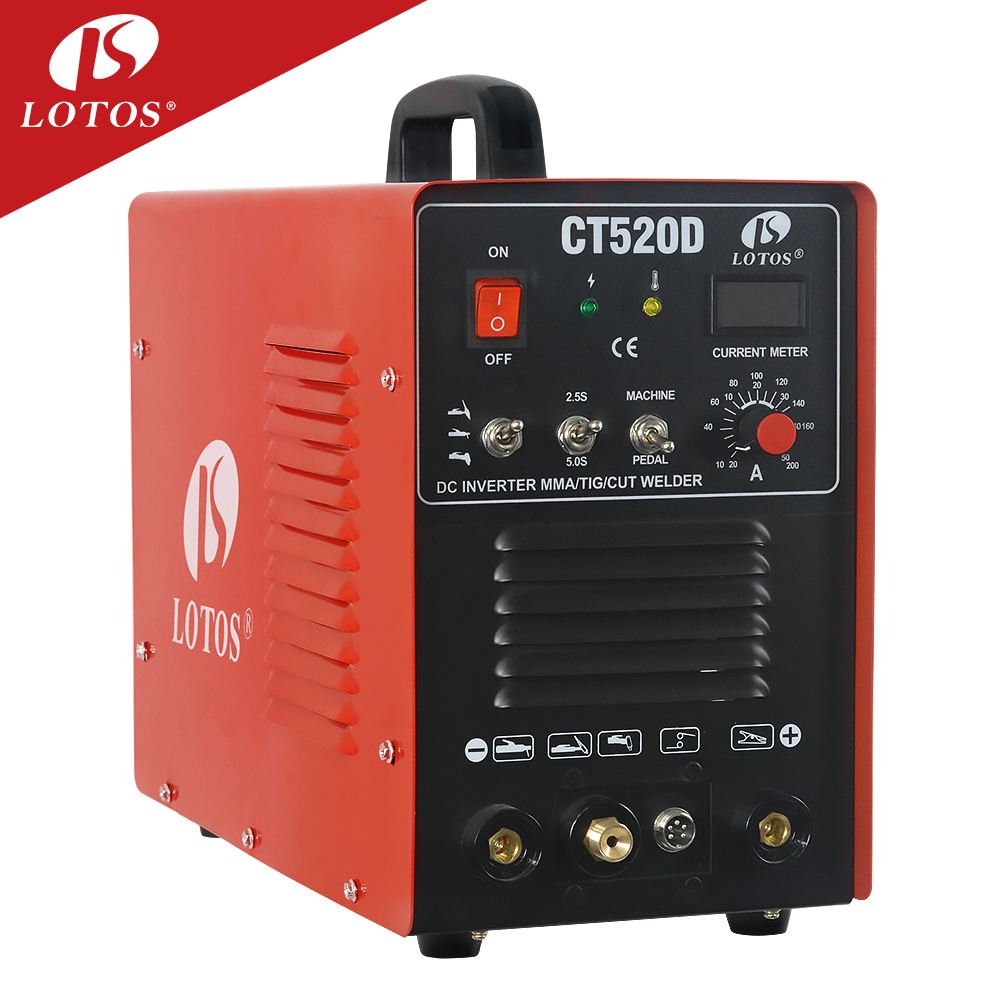 Wholesale Welding Inverter Circuit Online Buy Best Generator Diagram Lotos Ct520d Portable Plasma Cutter Mig Tig 3 In 1 Combo Welder Dc Strong