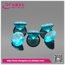 Customized Available natural blue topaz beads