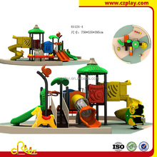 hot selling plastic kids slide used commercial playground equipment sale