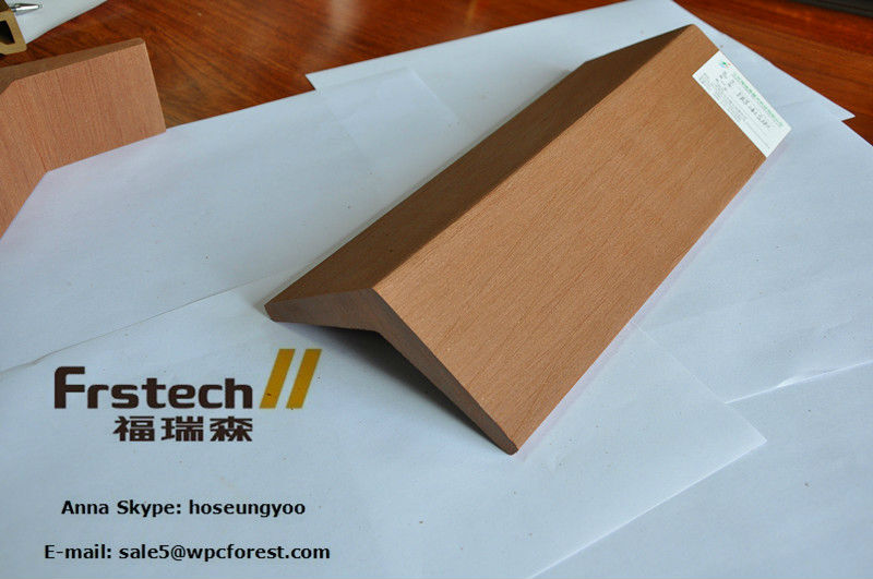141x130mm roof ridge tile for pavilion and roof edge tile for gazebo and exterior wpc roof tile