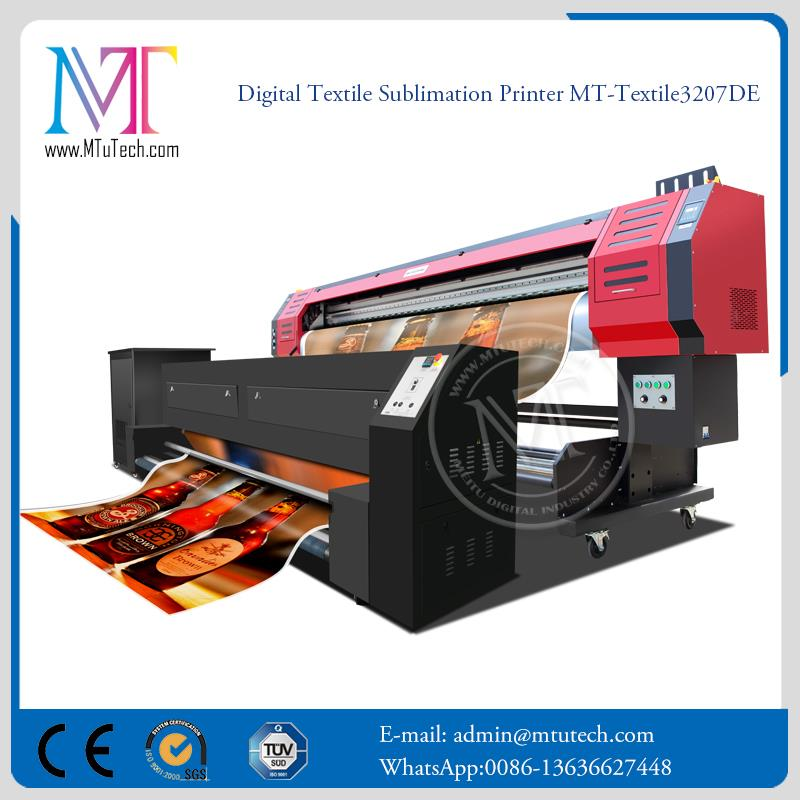 Dual Sliders Sublimation Home Textiles cheap t-shirt print machine