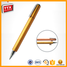 Ball pen with rope,good quality the metal pen