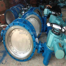 remote motorized electric actuator butterfly Valve