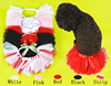 2016 new Pet Clothing small dog clothing Tattered Tulle Tutu