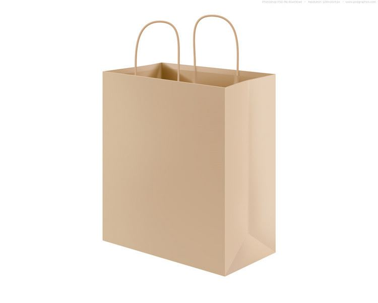 Hot selling super quality durable promotional gift paper bag with handle