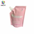 Hair Mask 100ml Stand Up Full Color Printed Aluminum Foil Laminated Moisture Proof Spout Pouch