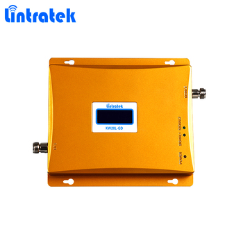Foshan Lintratek 20dBm 65dB repeater 900+1800mhz mobile phone signal booster