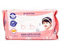 Soft material comfort skin care non alcohol baby wipes wet