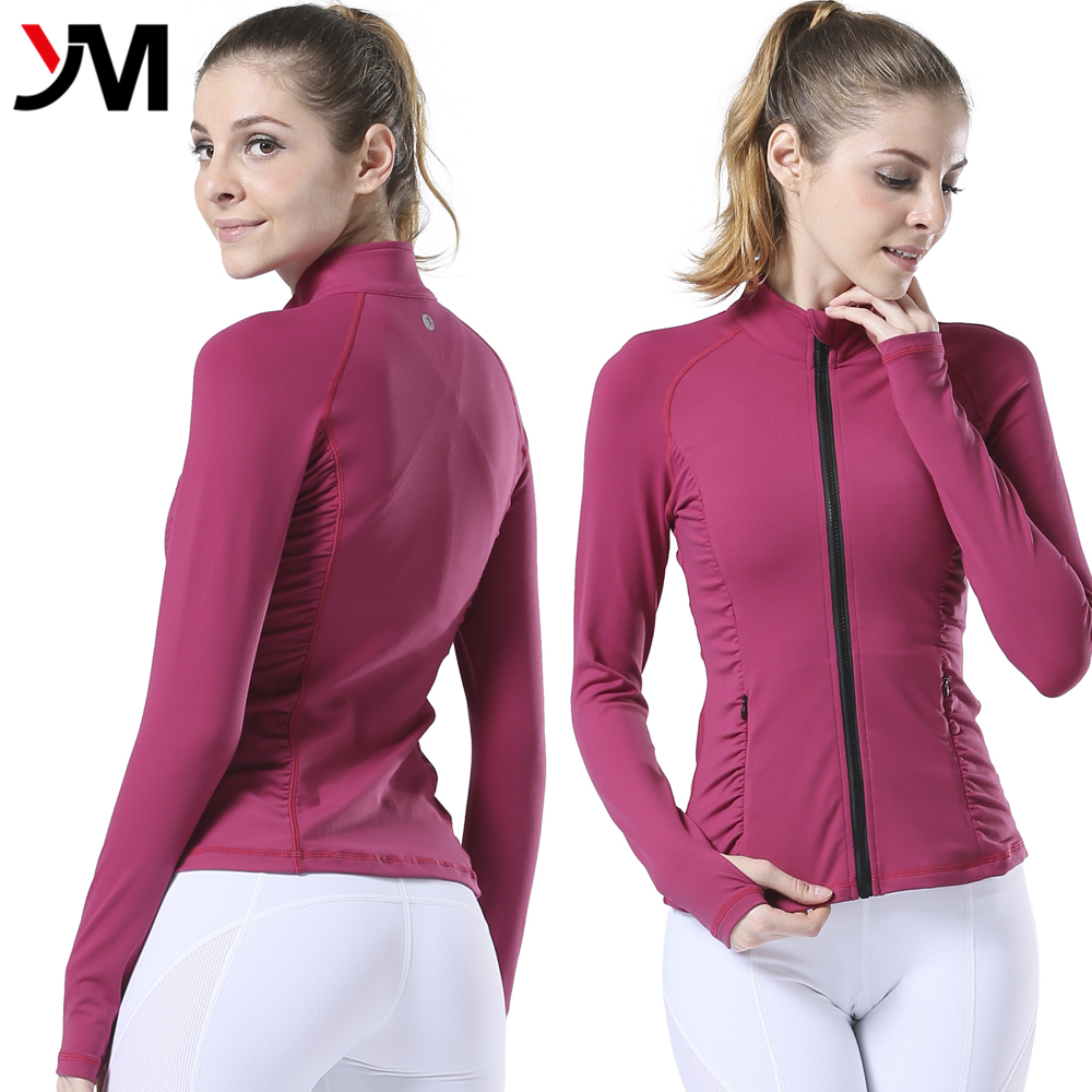 Custom women's athletic wear is available in a wide range of styles, colors, and sizes, including long-sleeve or short-sleeve athletic t shirts, moisture-wicking performance material, and even zip-up and pullover hoodies for cold-weather workouts or warm-up sessions.