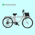 350W 36V 10AH li-ion battery electric bicycle with Pedals or throttle bar